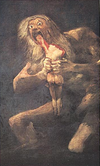 Satan_and_his_son_goya