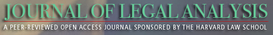 Journal of Legal Analysis